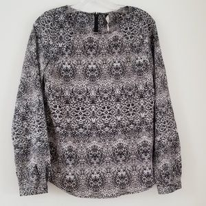 LTD LUXE COLLECTION Animal Tribal Longsleeve Top
